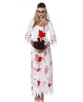 Disfraz de Novia Sangrienta