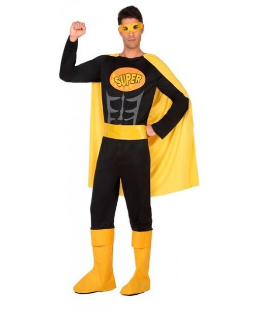 Disfraz de Heroe Comic Negro