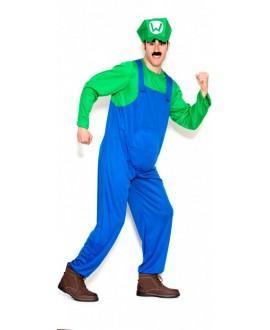 Disfraz Fontanero Verde