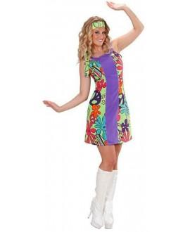Disfraz Chica GO-GO Hippie