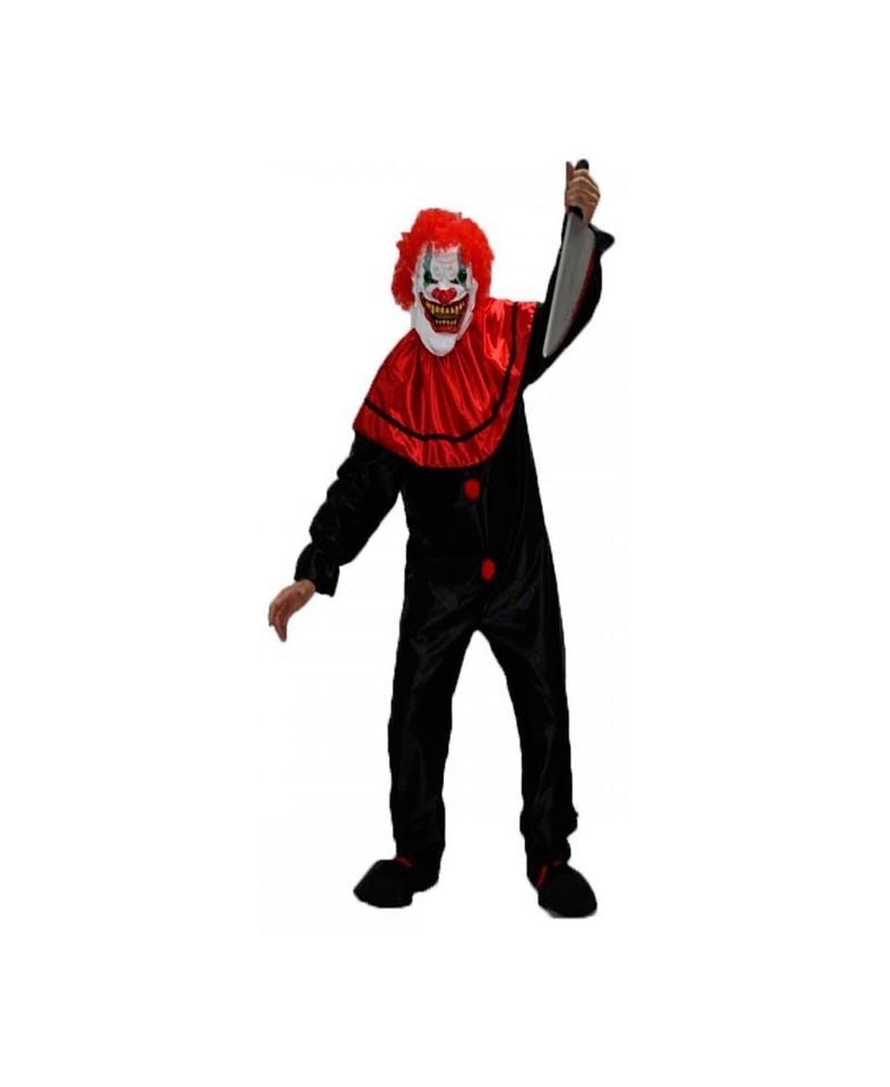 Disfraz de Payaso asesino Negro