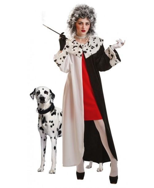Disfraz de Cruella de Vil