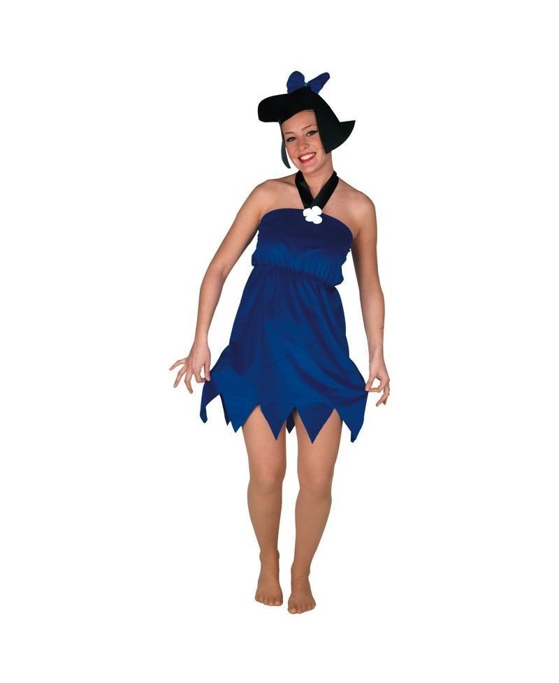 Disfraz de Prehistórica Azul