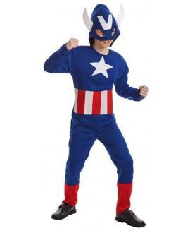 Disfraz de Héroe Americano Infantil