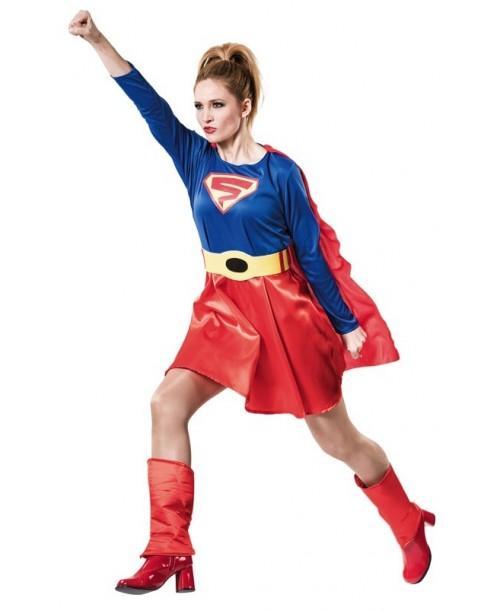 Disfraz de Super Héroe Mujer