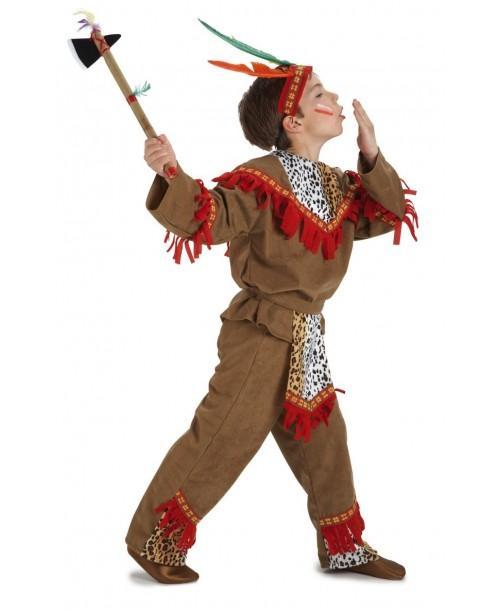 Disfraz de Indio de Bebe de Lujo