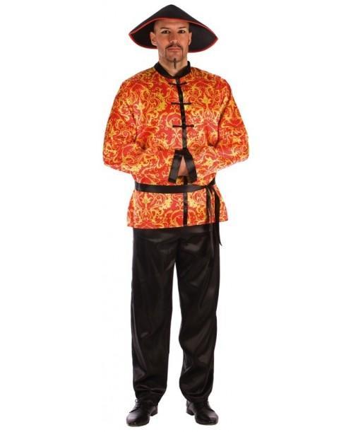 Disfraz de Chino para Adulto