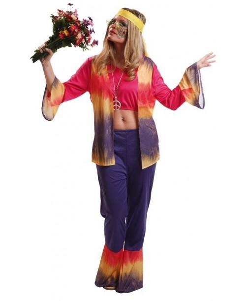 Disfraz de Hippy Mujer