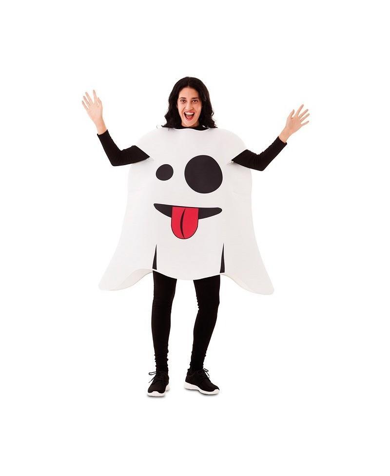 Disfraz de Emoticono Fantasma