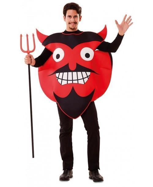 Disfraz de Emoticono Diablo
