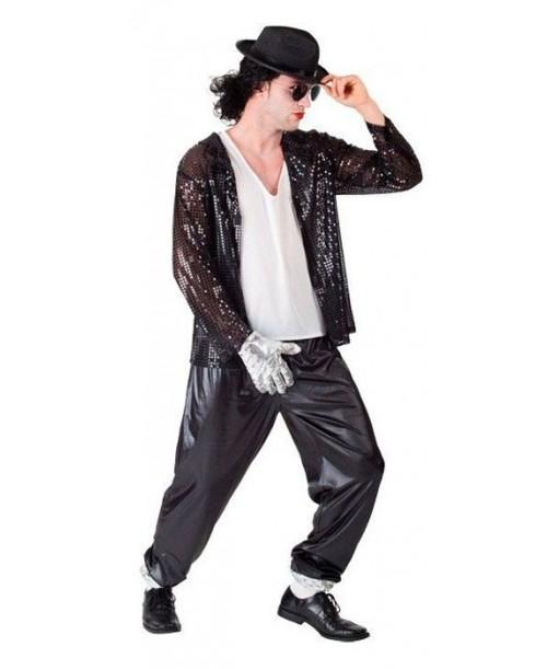 Disfraz del Rey del Pop