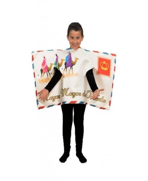 Disfraz Carta Reyes Magos de Oriente Infantil
