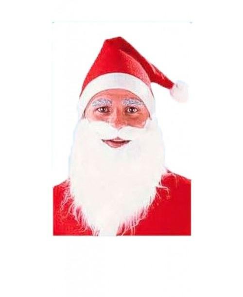 Gorro con Barba de Papa Noel
