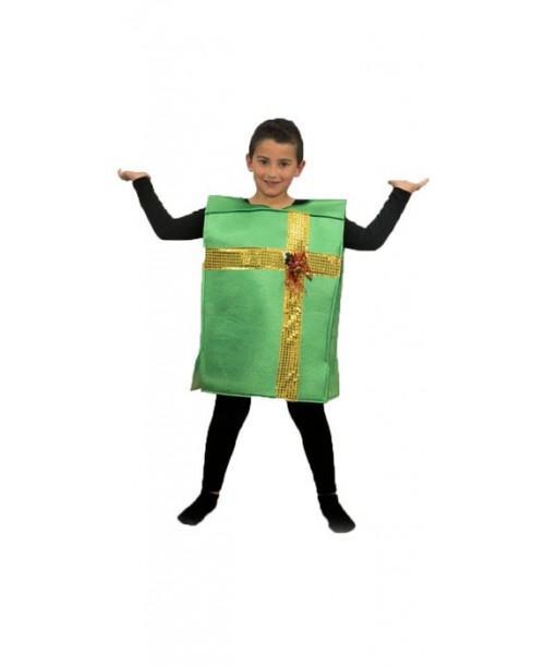 Disfraz de Paquete Regalo Infantil