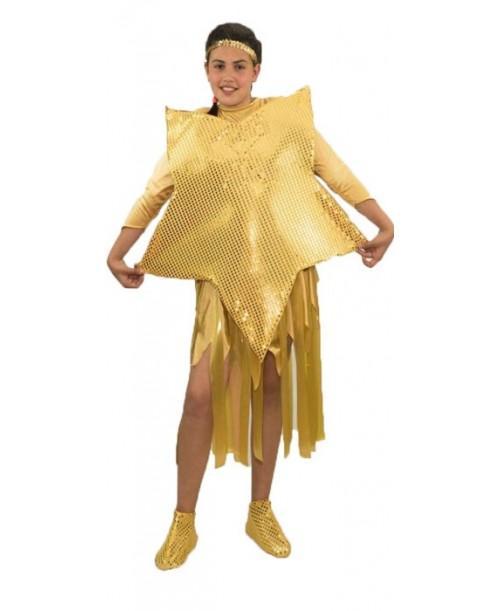Disfraz Estrella Dorada