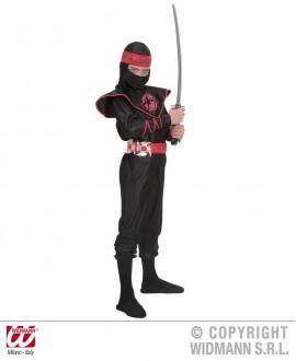 Disfraz de Dragón Ninja Negro