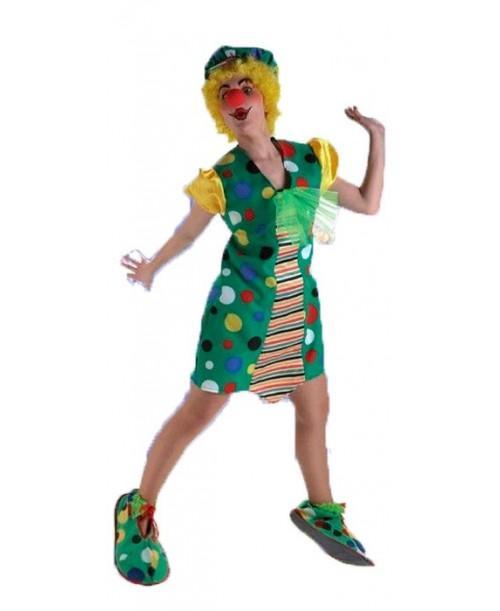 Disfraz de Payasa Topos para Mujer
