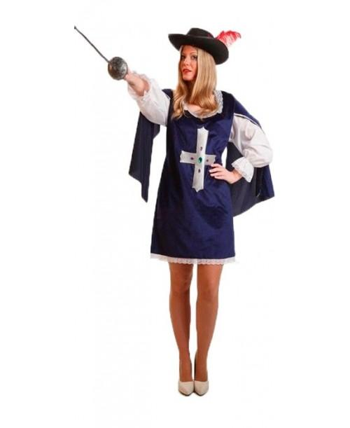 Disfraz de Mosquetera para Adultos