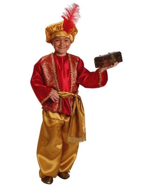 Disfraz de Paje de Gaspar Infantil