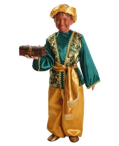 Disfraz de Paje de Baltasa Infantil