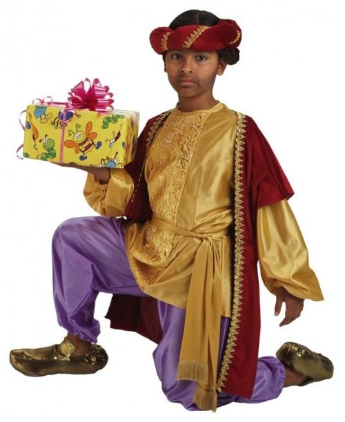 Disfraz Paje Baltasar Infantil