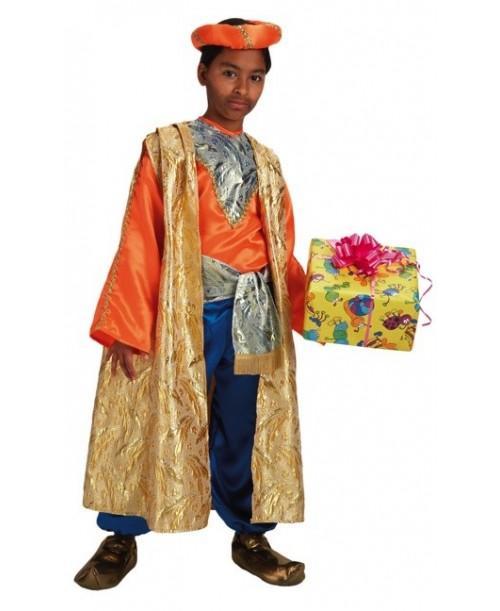 Disfraz de Rey Baltasar Lujo Infantil