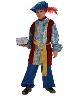 Disfraz de Paje Gaspar Infantil
