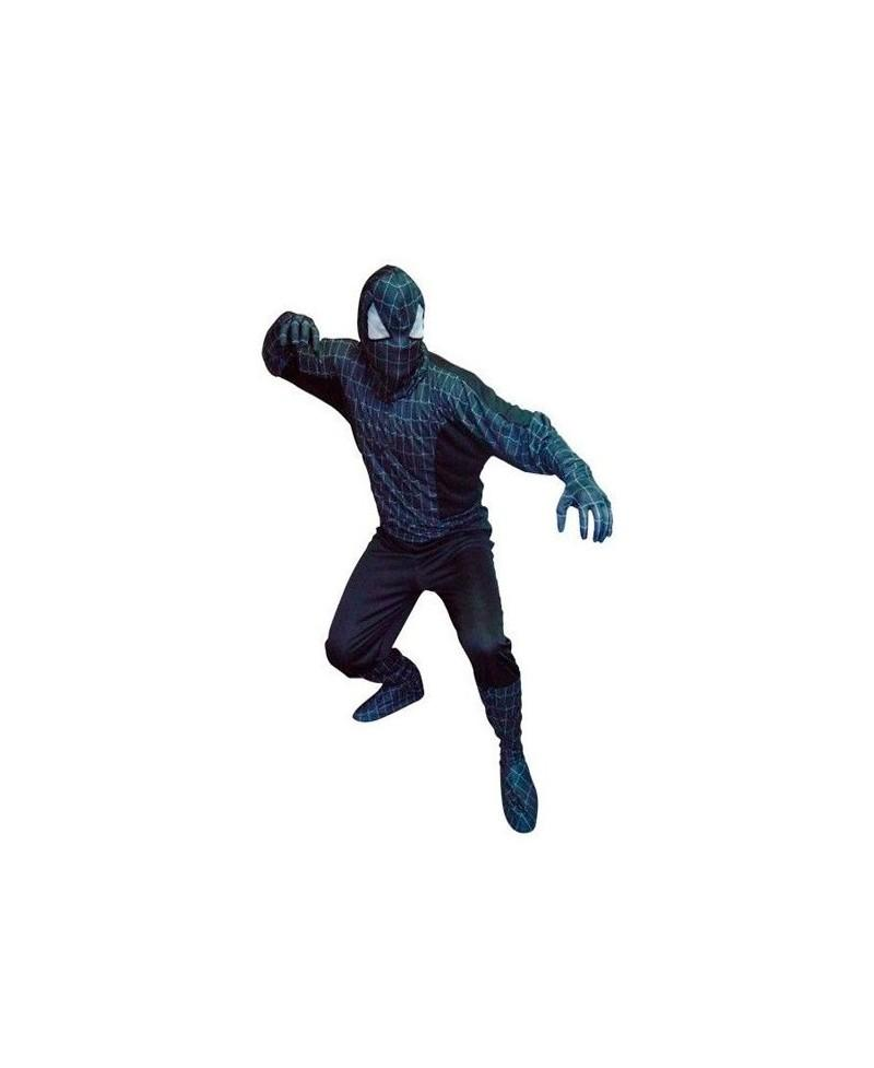 Disfraz de Spider Héroe Negro Adulto