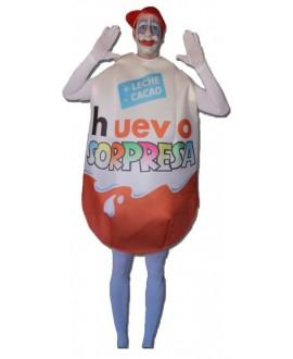 Disfraz Huevo Sorpresa Adulto