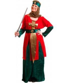 Disfraz de Guerrera Medieval