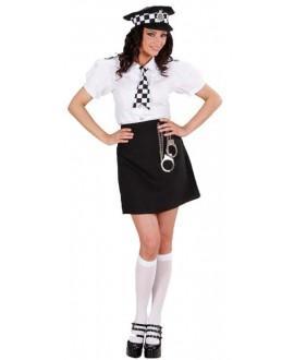 Disfraz de Chica Policía Británica