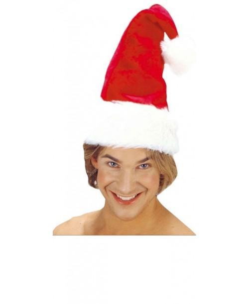 Gorro Papa Noel de peluche
