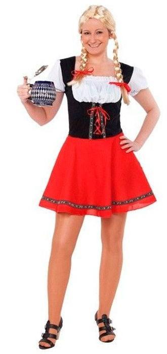 Disfraz de Chica Tirolesa  2d7df780547c