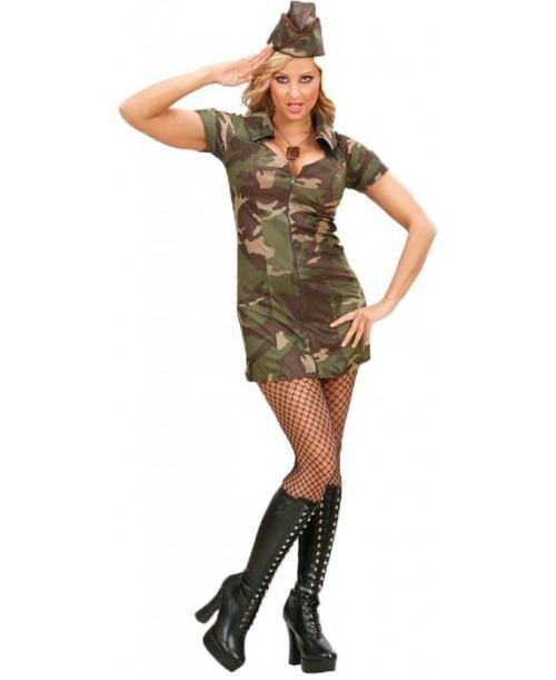 Disfraz de Soldado Chica