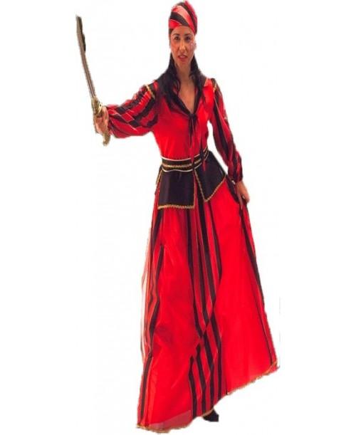 Disfraz de Pirata a Rayas
