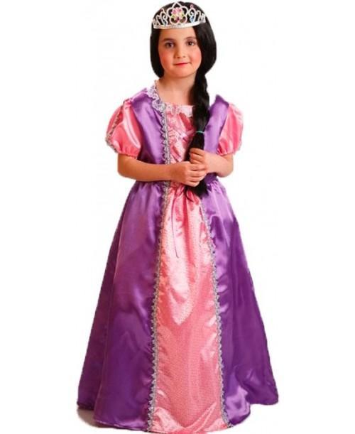Disfraz de Princesa Morado Infantil