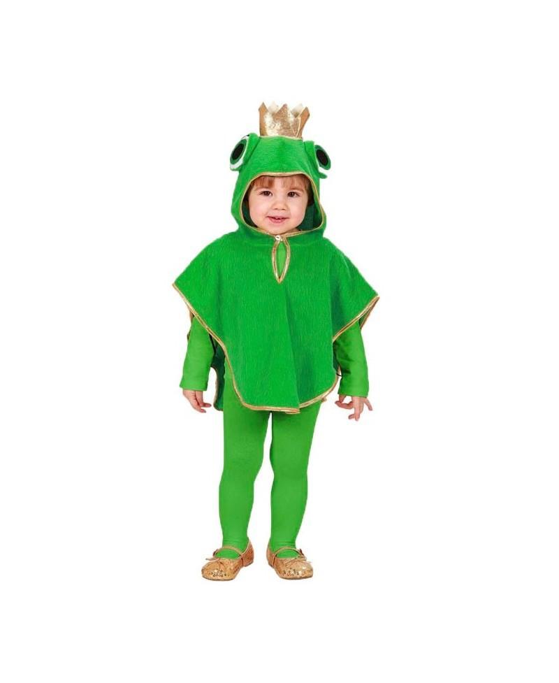 Disfraz de Rana de Peluche para Bebés