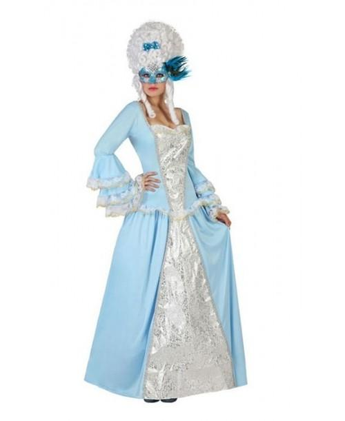 Disfraz Cortesana Azul