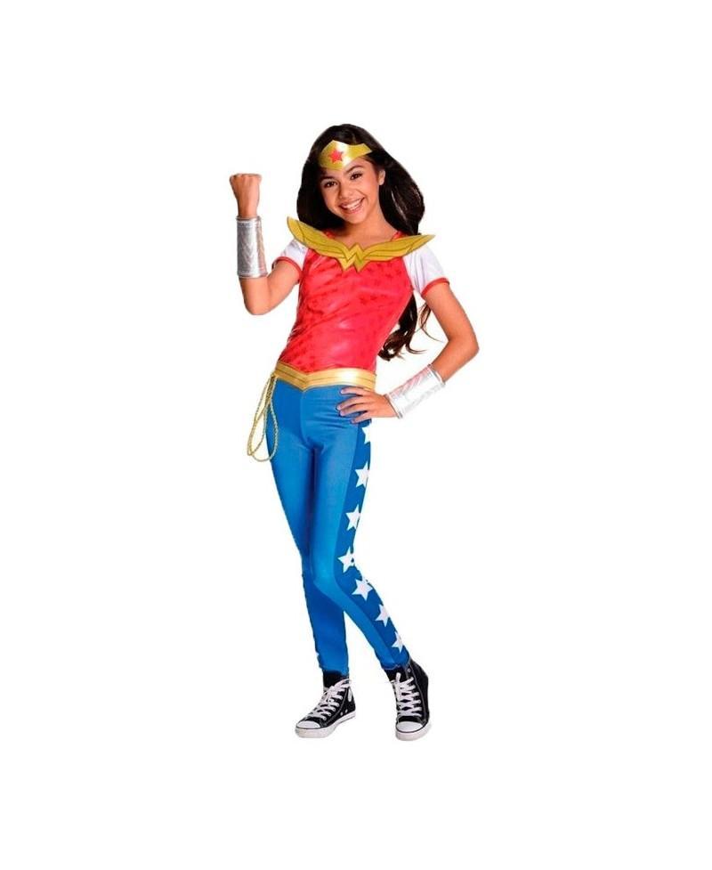 Disfraz de Wonder Woman Deluxe para Niña