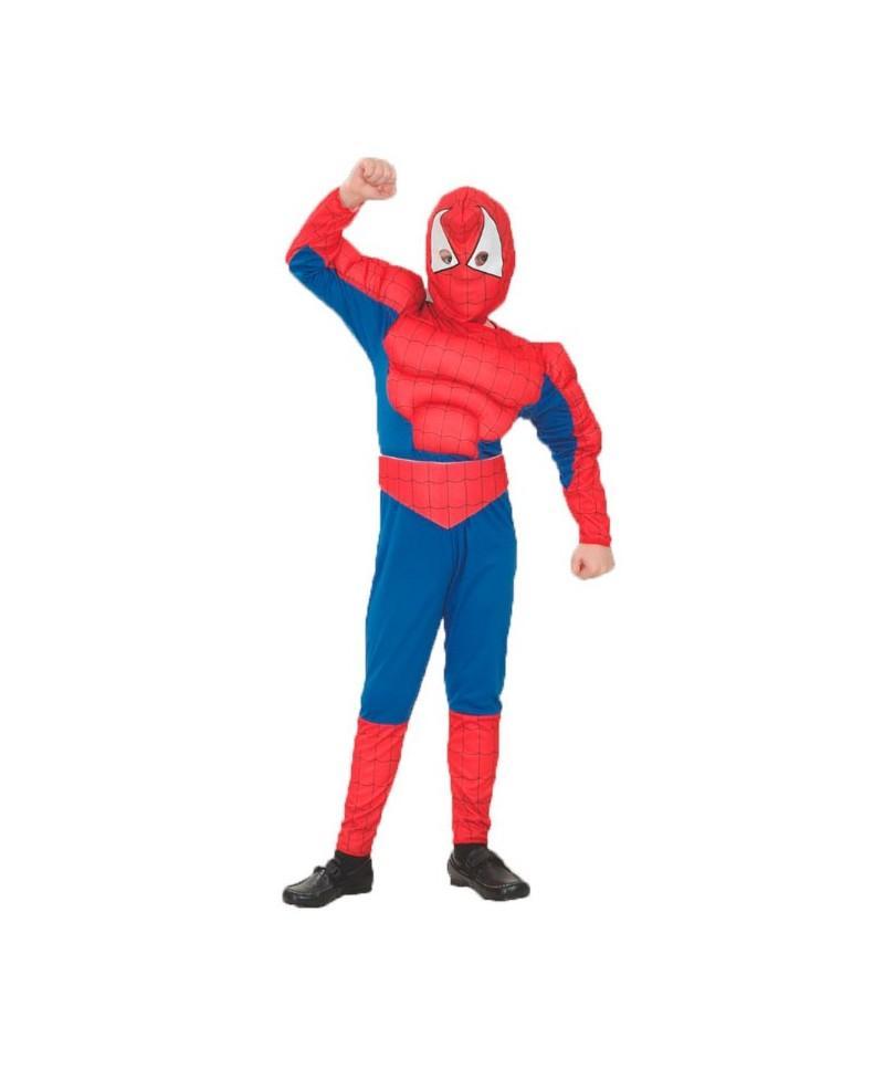 Disfraz de Héroe Araña Musculoso