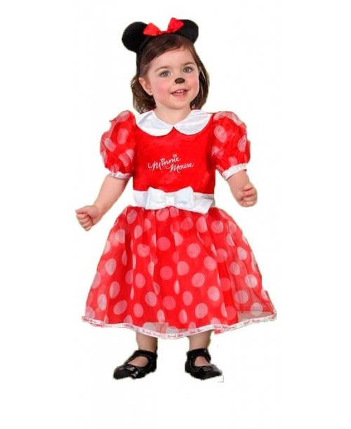 Disfraz de Minnie Rojo