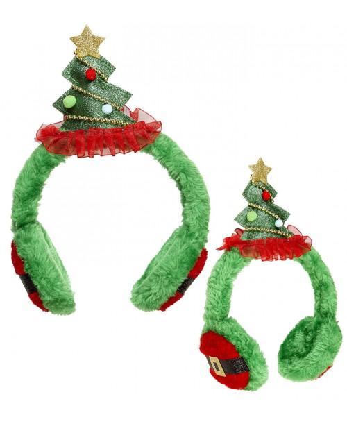 Orejeras Ärbol de Navidad