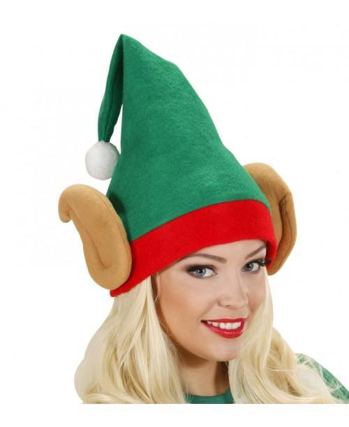 Sombrero Elfo Ayudante Papa Noel