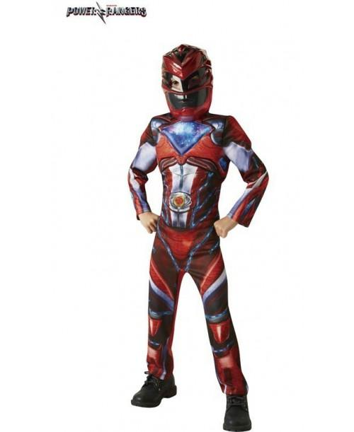 Disfraz de Red Ranger Movie Deluxe