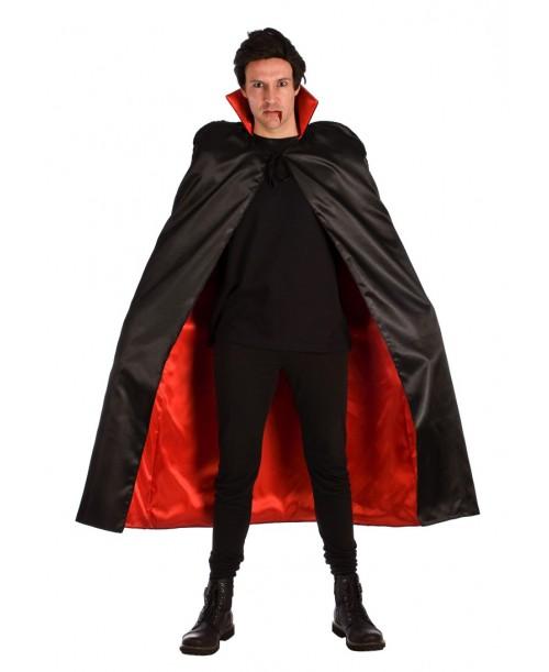 Capa roja y negra
