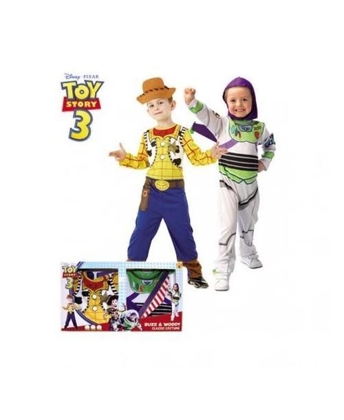 Disfraz de Buzz + woody