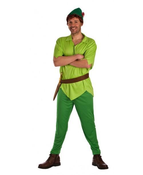 Disfraz duende verde