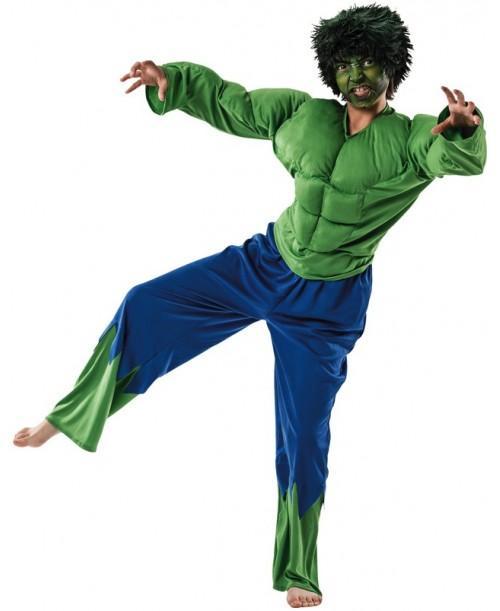 Disfraz fordudo verde