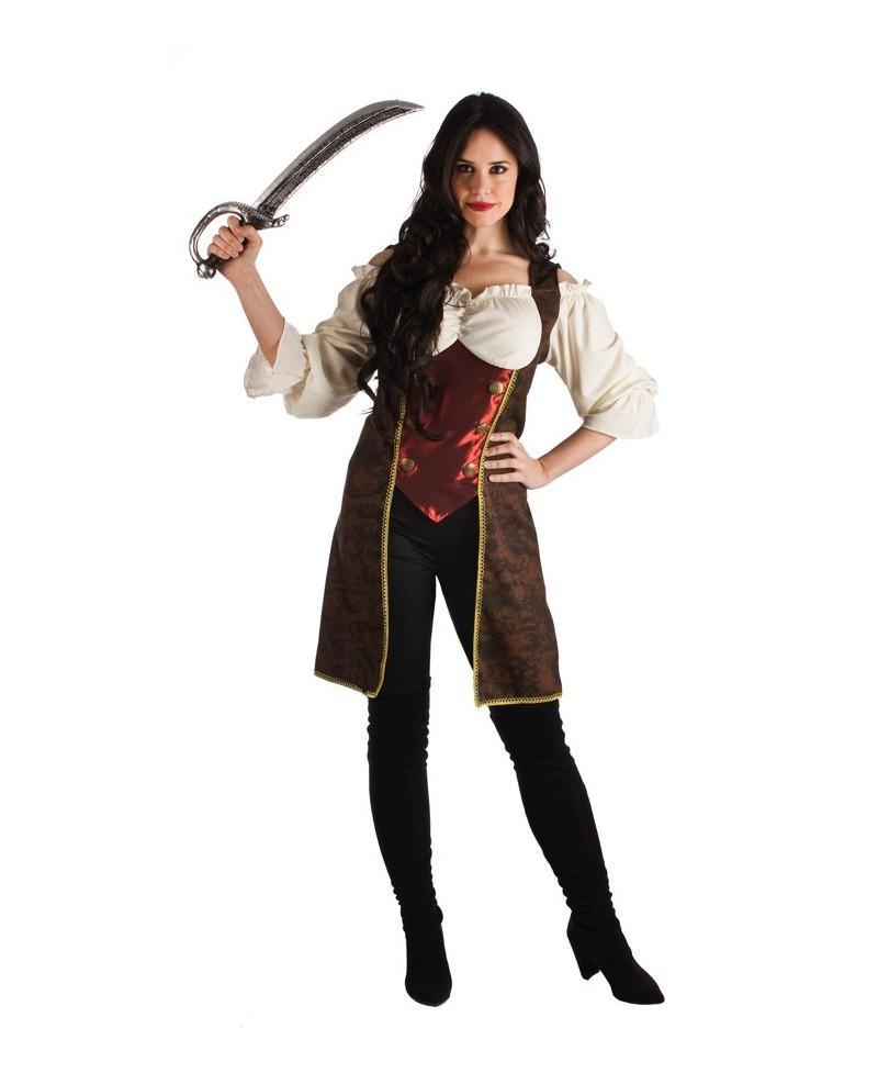 Disfraz pirata lujo