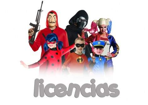 Disfraces de Licencias
